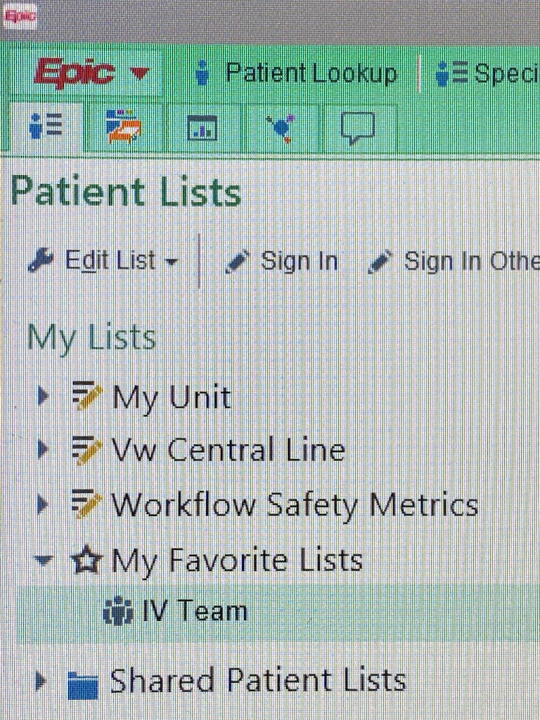 A screenshot of a mobile vascular access services
