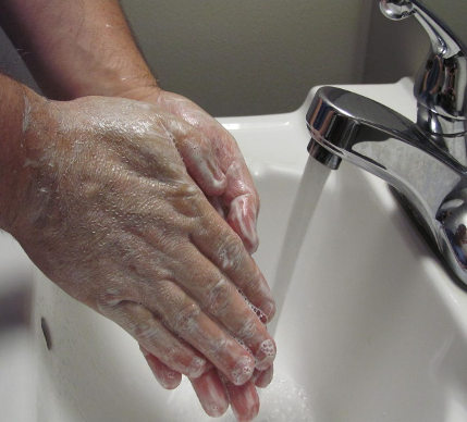 washing hands is essential